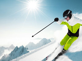 Looking for adventure skiing